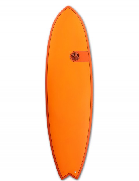 Cortez Fish surfboard 6ft 9 - Hot Orange