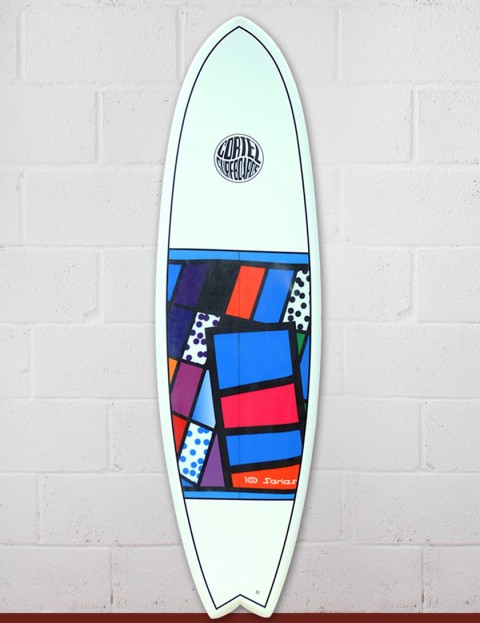 Cortez Fish surfboard 6ft 9 - 10 Series Sanded