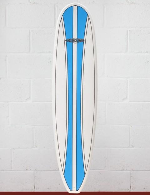 Cortez Funboard surfboard 7ft 6 - Blue