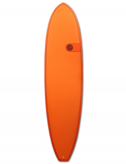 Cortez Funboard surfboard 7ft 6 - Hot Orange