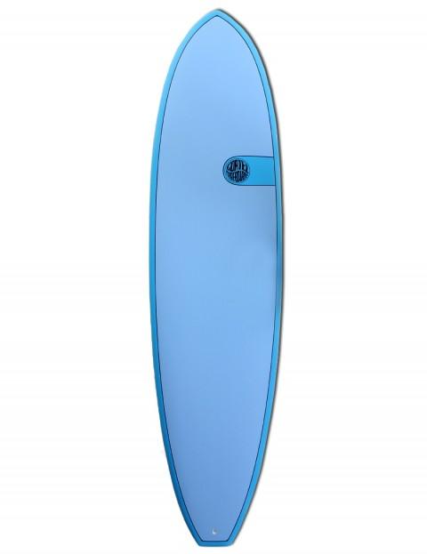 Cortez Funboard surfboard 7ft 2 - Ocean Blue