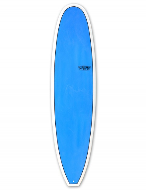 Cortez Funboard Mini Mal Surfboard 7ft 6 - Sanded Blue