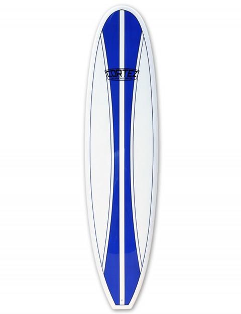 Cortez Funboard Surfboard 7ft 2 - Navy Blue