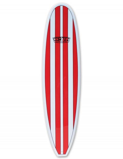 Cortez Funboard surfboard 8ft 0 - Red Stripe
