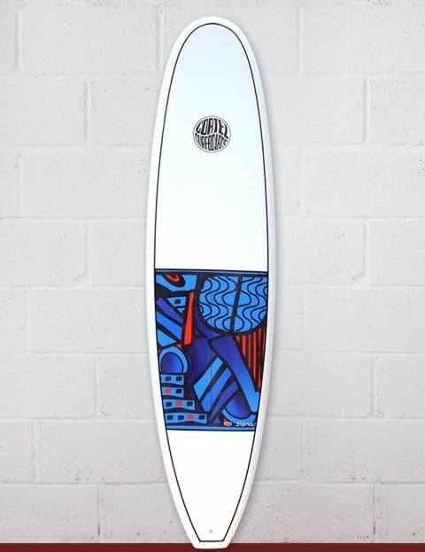 Cortez Funboard Surfboard 7ft 2 - Series 10 Blue
