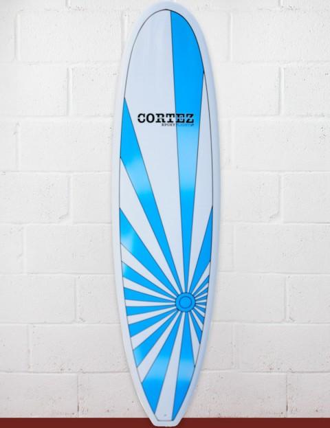 Cortez Surfboards Grom Mini Mal 6ft 6 - Blue Sunrise