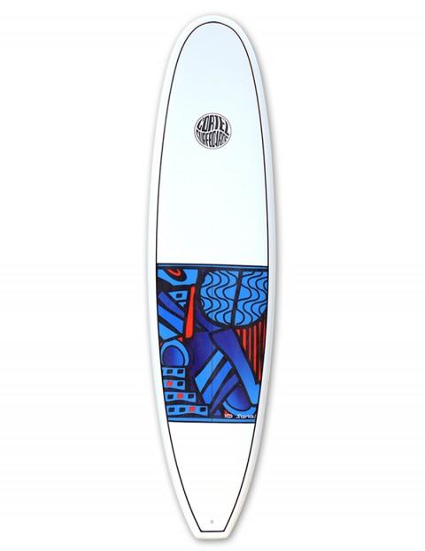Cortez Funboard Beginner Surfboard 7ft 4 - Series 10 Blue