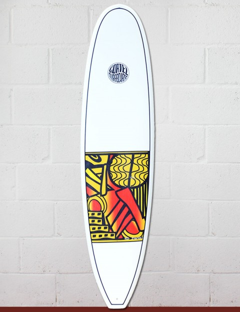 Cortez Grom surfboard 6ft 10 - Series 10 Yellow
