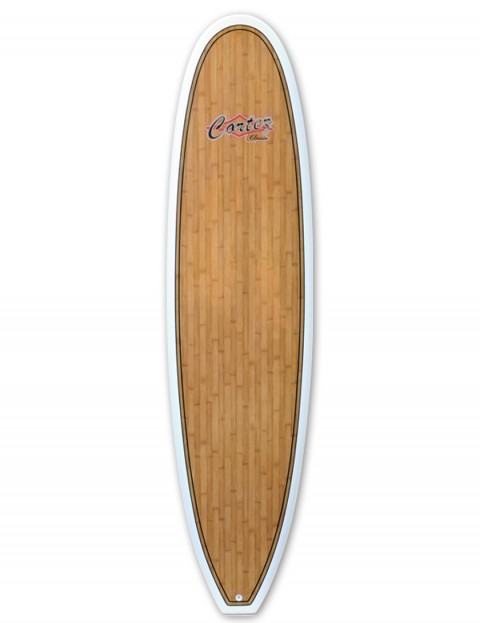 Cortez Fun Veneer Surfboard 7ft 6 - Bamboo