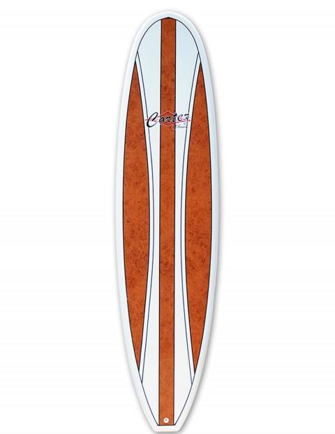 Cortez Fun Veneer Surfboard 8ft 0 - Walnut