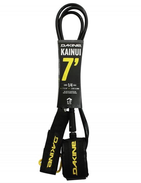 DaKine Kainui surfboard leash 7ft - Black