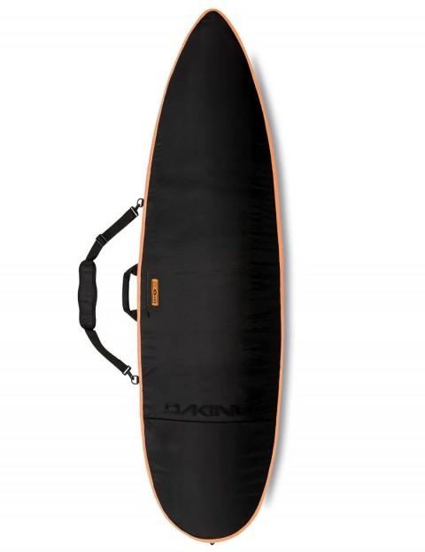DaKine John John Daylight Thruster surfboard bag 8mm 6ft 6 - Black/Orange
