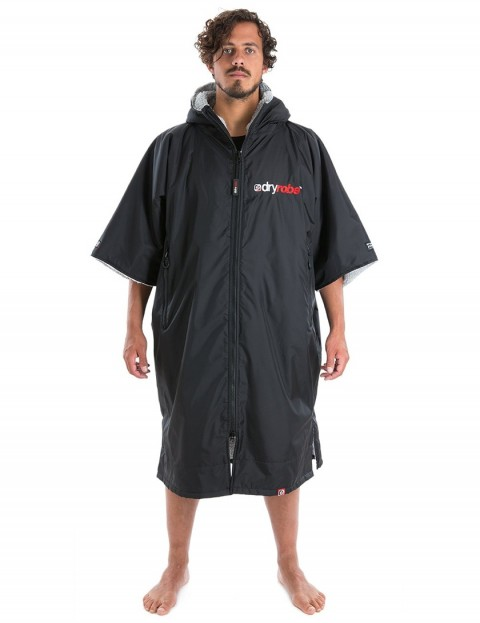 Dryrobe Advance Adult outdoor change robe - Black/Grey