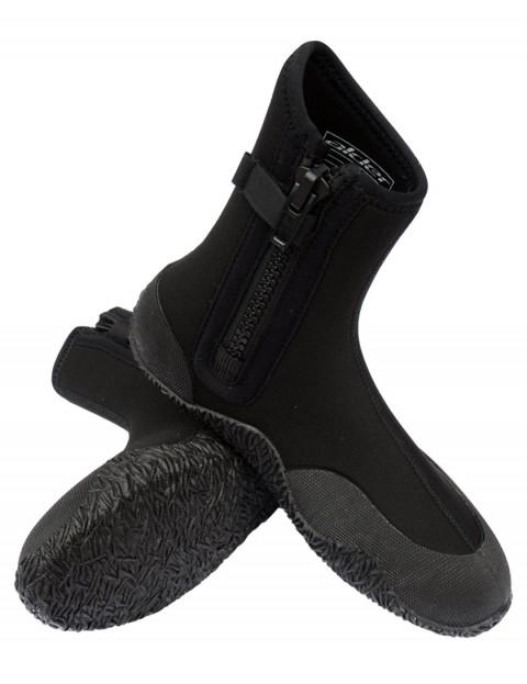 Alder Edge Zipped 5mm Wetsuit Boots - Black