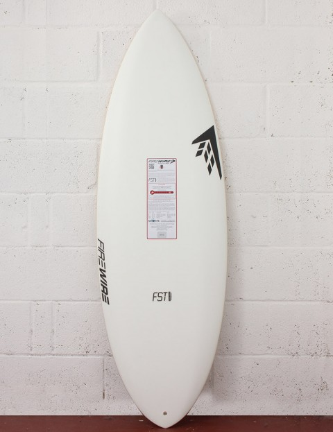 Firewire FST Double Agent surfboard 5ft 4 Futures - White