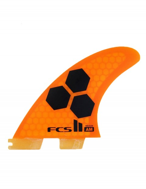 FCS II AM PC Medium Tri-Quad Five Fin set - Orange