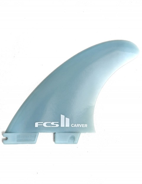 FCS II Carver Thruster GF Medium Tri fin set - Grey