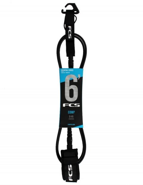 FCS Comp surfboard leash 6ft - Black