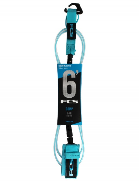 FCS Comp surfboard leash 6ft - Blue