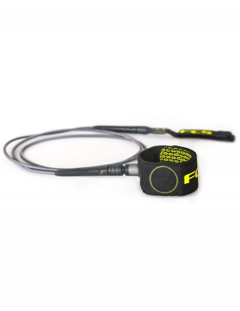 FCS Freedom surfboard leash 6ft - Charcoal