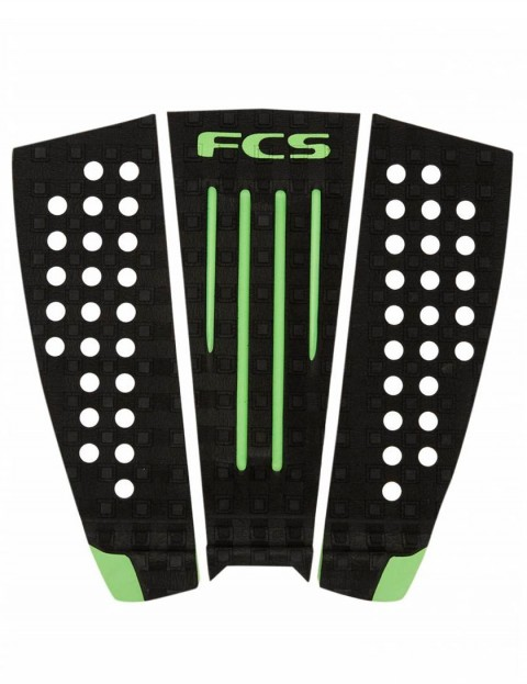 FCS Julian Wilson Surfboard Tail Pad - Black/Hot Lime