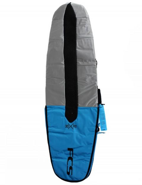 FCS 3DxFit Dayrunner Performance Hull 5mm surfboard bag 5ft 8 - Pro Blue