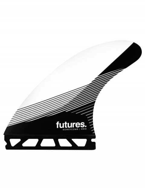 Futures DHD Honeycomb Tri Fins Large - White/Black