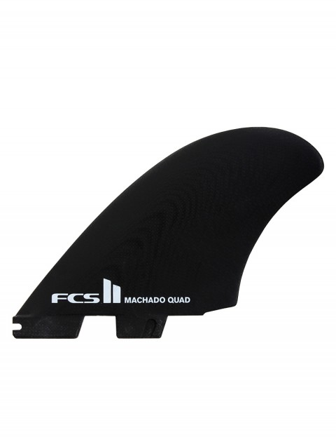 FCS II Rob Machado PG Seaside Quad Fins X Large - Black