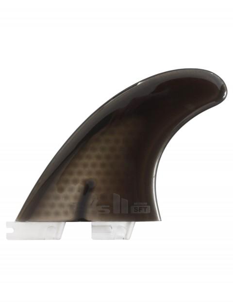 FCS II SoftFlex Tri Fins Medium - Smoke