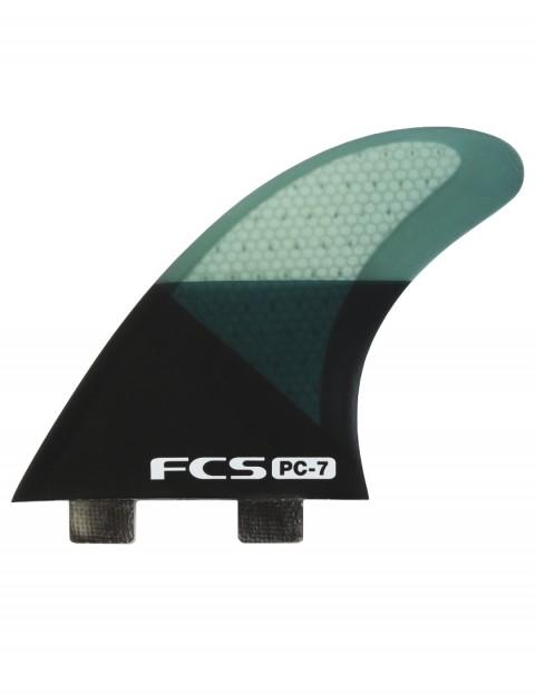FCS PC 7 Quad Fins Large - Smoke Slice