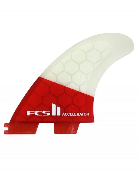 FCS II Accelerator PC Tri Fins Medium - Red Mood