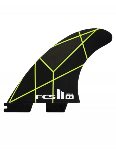 FCS II Kolohe Andino PC Tri Fins Medium - Grey/Yellow
