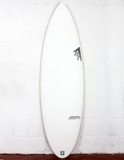 Firewire FST Dominator Surfboard 6ft 0 FCS II - White