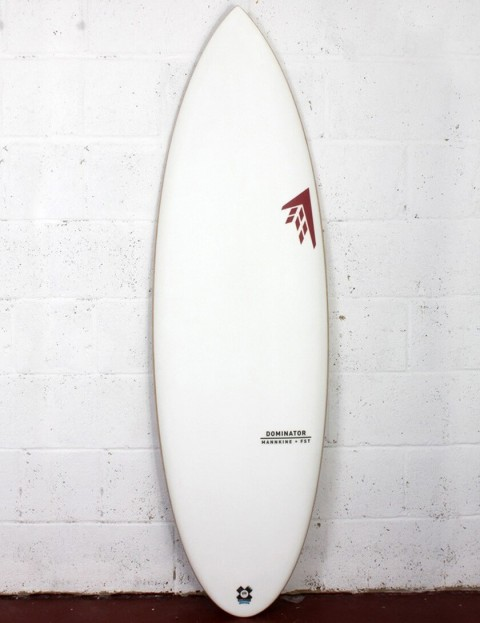 Firewire FST Dominator Surfboard 6ft 2 Futures - White