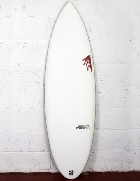Firewire FST Dominator Surfboard 5ft 8 Futures - White