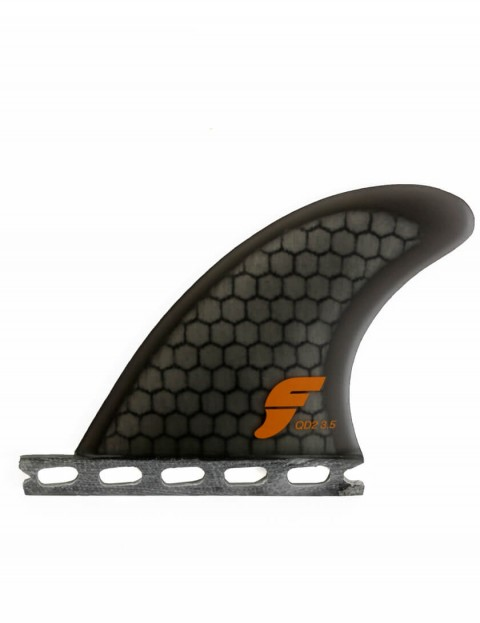 Futures QD2 3.5 Honeycomb Quad Rear Two Fin Set X Small - Smoke
