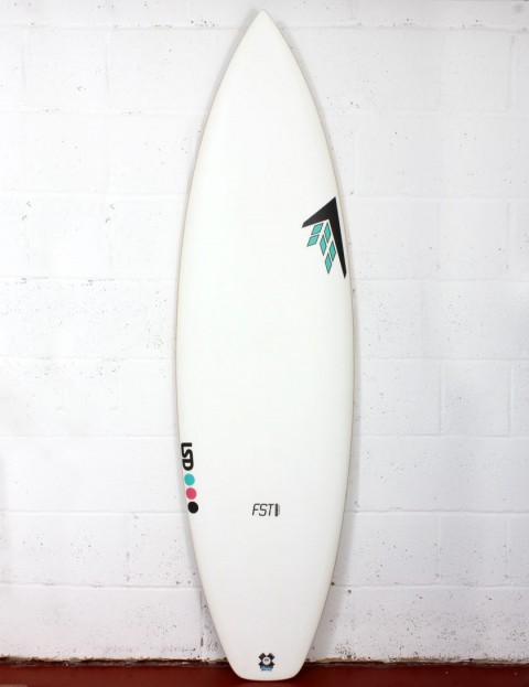 Firewire FST Chubby Chedda surfboard 5ft 8 FCS - White