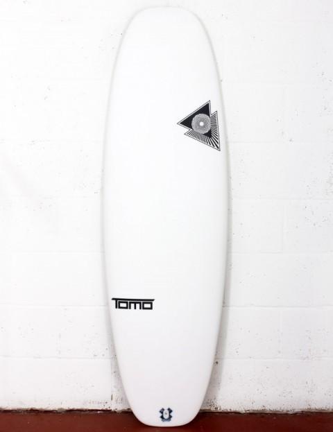 Firewire Helium Evo surfboard 5ft 6 Futures - White