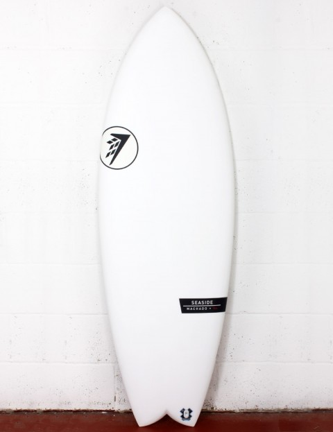 Firewire Helium Seaside surfboard 5ft 11 Futures - White