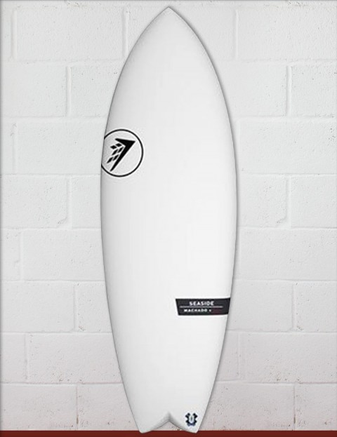 Firewire Helium Seaside surfboard 5ft 10 Futures - White
