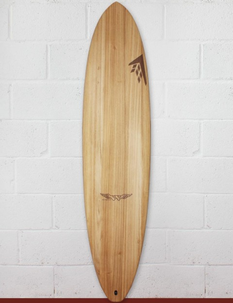 Firewire Timbertek Seaxe surfboard 7ft 6 FCS II - Natural Wood