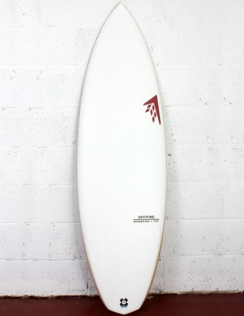 Firewire FST Spitfire Surfboard 5ft 10 Futures - White