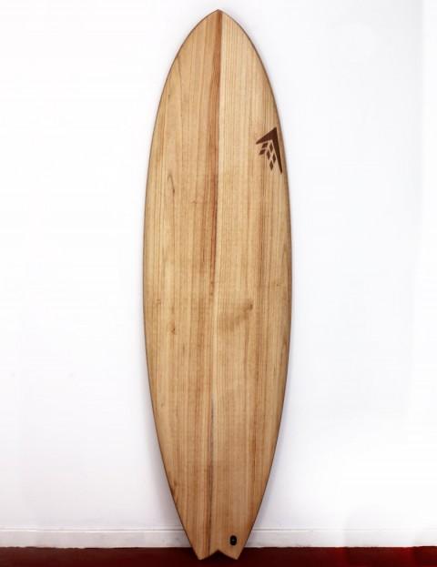Firewire Timbertek ADDvance surfboard 6ft 10 Futures - Natural Wood