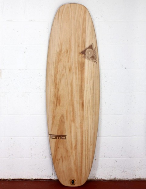 Firewire Timbertek Evo surfboard 6ft 4 Futures - Natural Wood