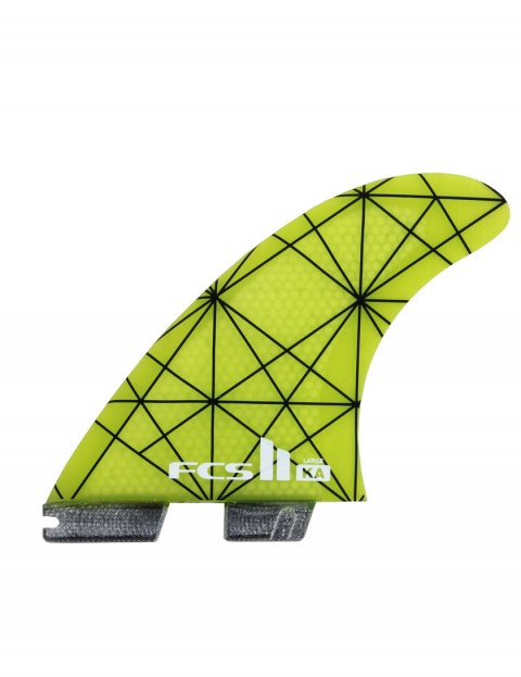 FCS II Kolohe Andino KA PC Tri Fins Large - Acid Green