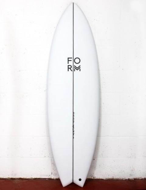 Form ADPT surfboard 6ft 5 FCS II - White