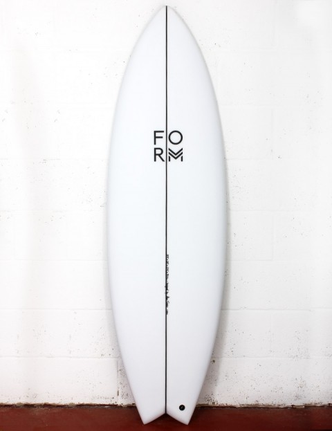 Form ADPT surfboard 6ft 3 FCS II - White