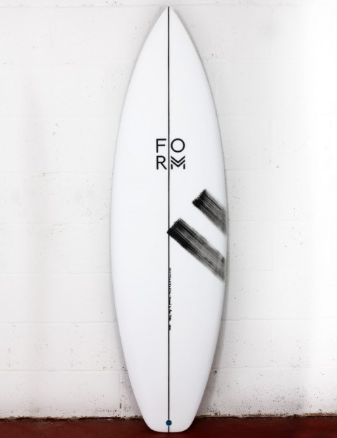 Form Go To surfboard 6ft 4 FCS II - White