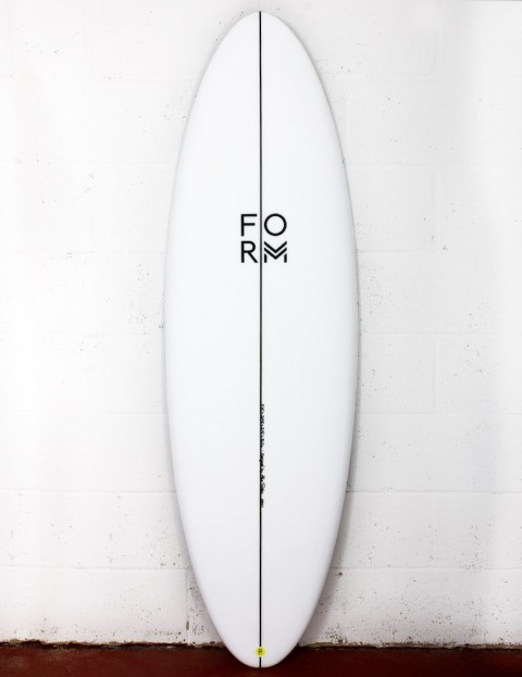 Form High Line surfboard 6ft 6 FCS II - White