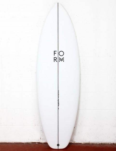 Form Mode X surfboard 5ft 6 FCS II - White